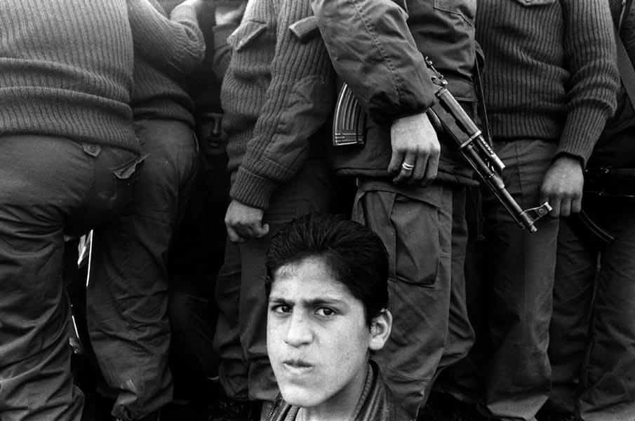 Miki Kratsman, Nablus 1995, 1995, digital print, 70X100 cm