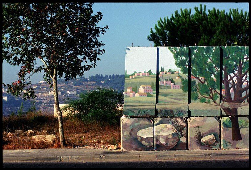 Miki Kratsman, Gilo #1, 2001, digital print, 116X170 cm