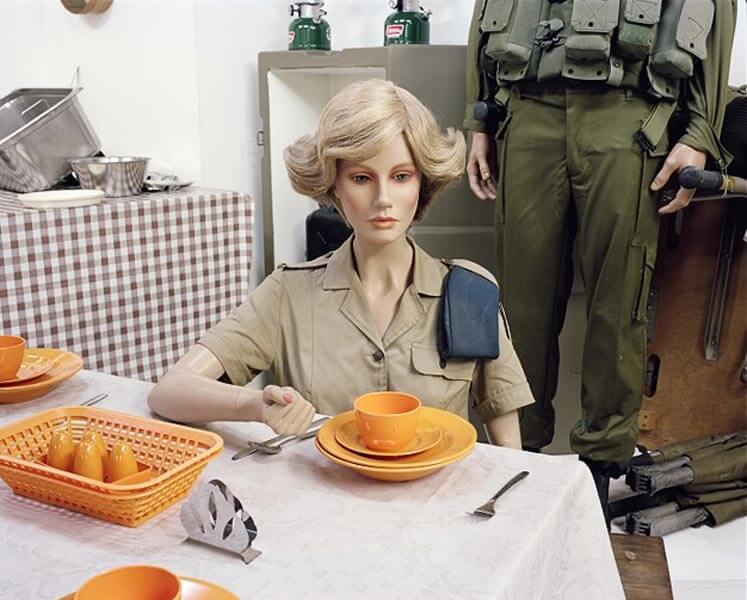 Miki Kratsman, Untitled (20), 2008, digital print, 85X100 cm