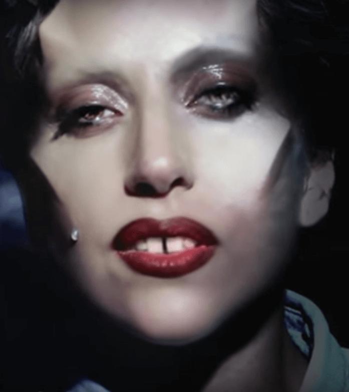 ליידי גאגא מתוך הסרטון