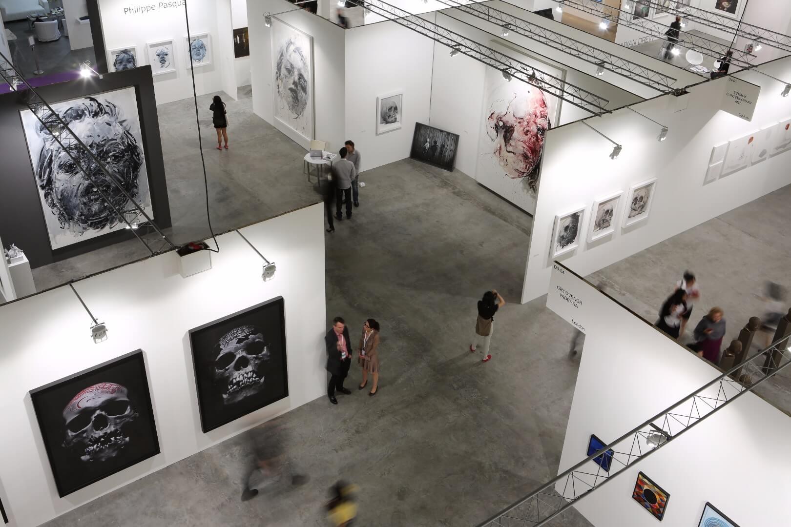 גלריה זימאק ביריד בסינגפור