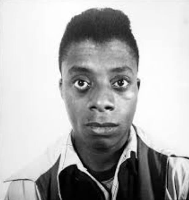 3- Richad Avedon, James Baldwin, writer, Harlem, 1945