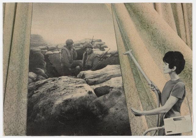 מרתה רוסלר, לנקות את הוילונות, 1967-72