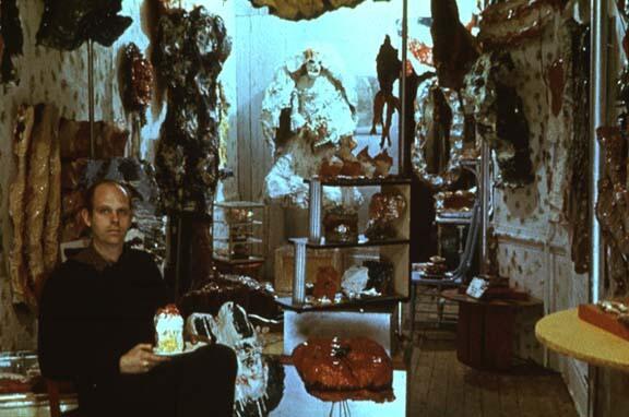 קלאס אולדנבורג, ספירת מלאי, חנות, 1961