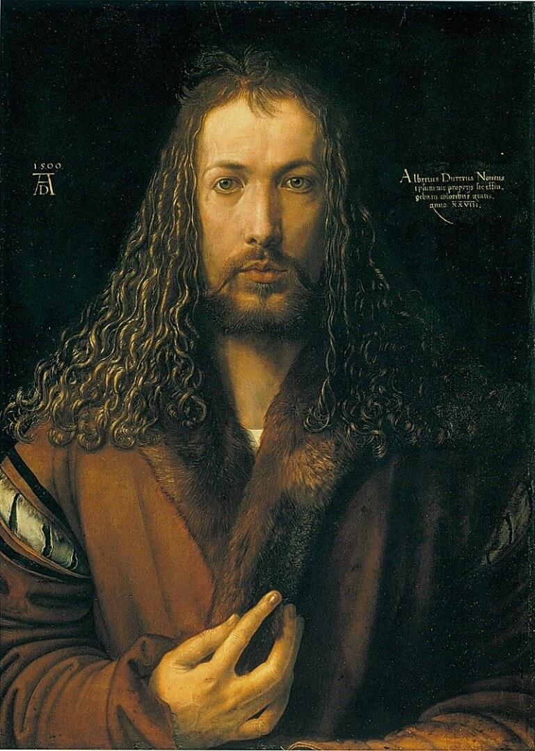 אלברכט דירר, דיוקן עצמי, 1500