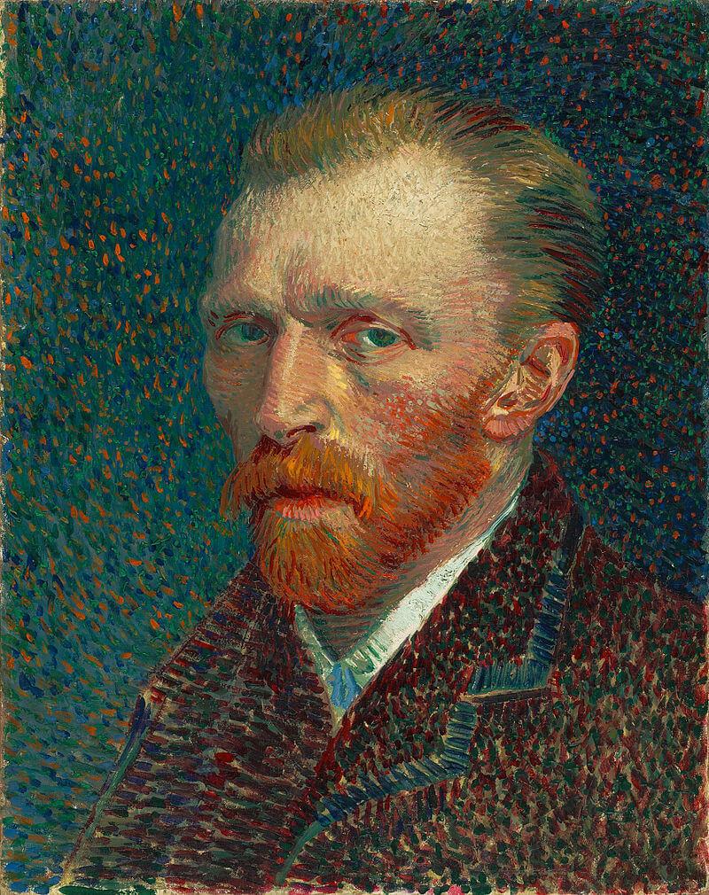 ואן גוך, דיוקן עצמי, 1887