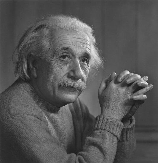 יוסוף קארש, אלברט איינשטיין, 1948