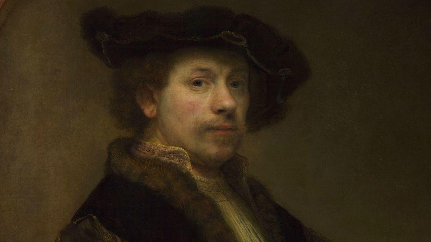 רמברנט, דיוקן עצמי, 1640