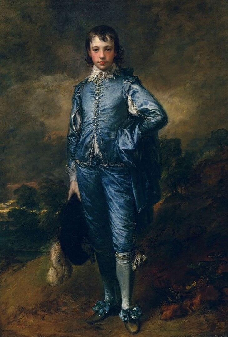 תומאס גיינסבורו, הנער הכחול, 1770 לערך