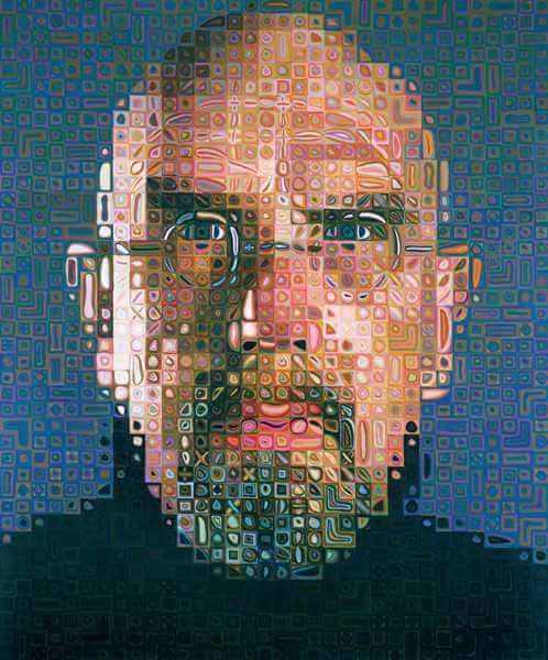 צאק קלוז, דיוקן עצמי, 2004