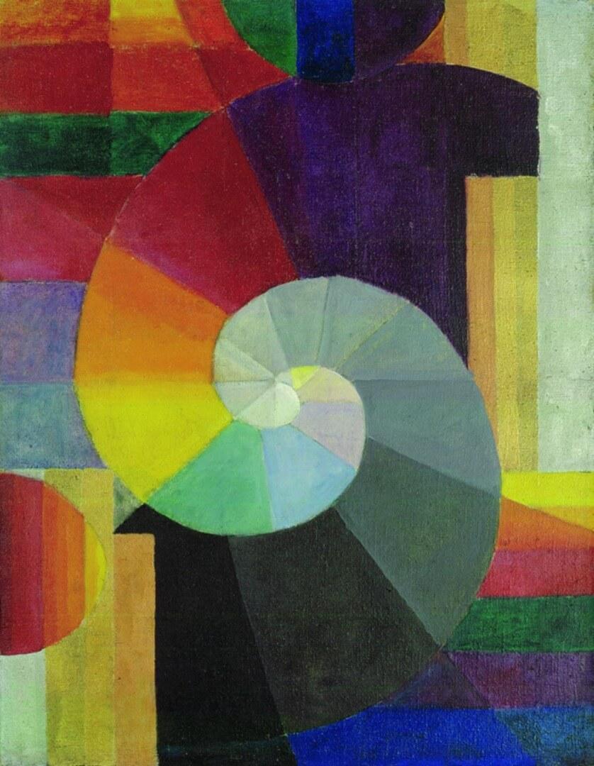 יוהאנס איטן, המפגש, 1916