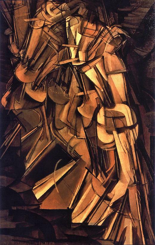 מרסל דושאן, ערום יורד במדרגות, 1912
