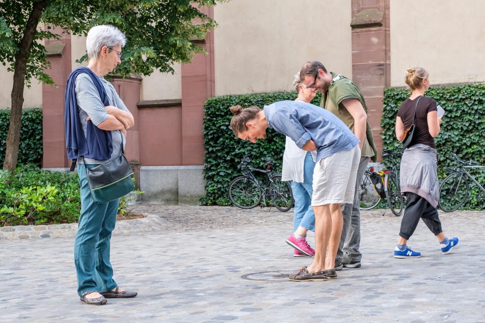 חנה ויינברגר, מיצב סאונד ברחוב, ארט באזל באדיבות גלריה פרידמן פיצפטריק