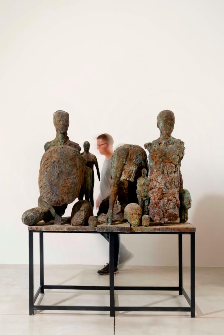 Ofer Lelloche, Atelie, 2018, bronze  (1)