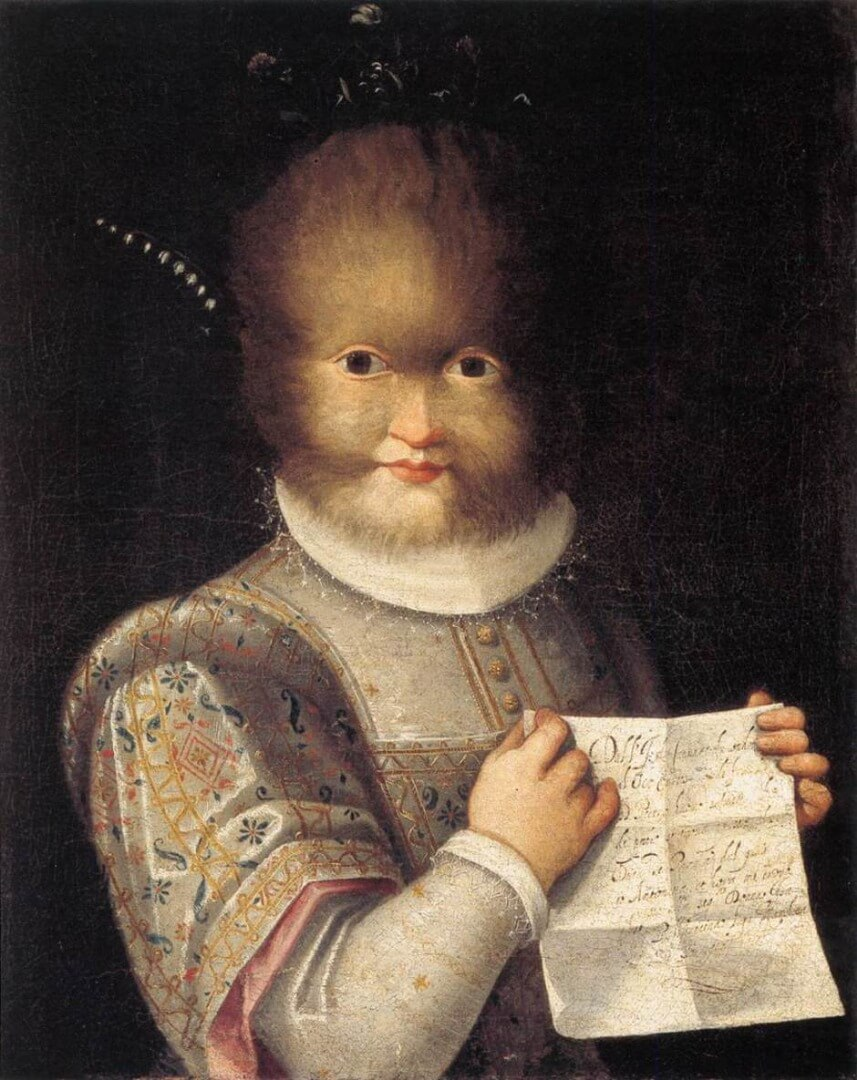 פונטנה דיוקן אנטוניטה גונזלס, 1595