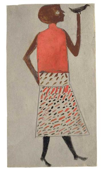untitled-woman-with-bird-1940
