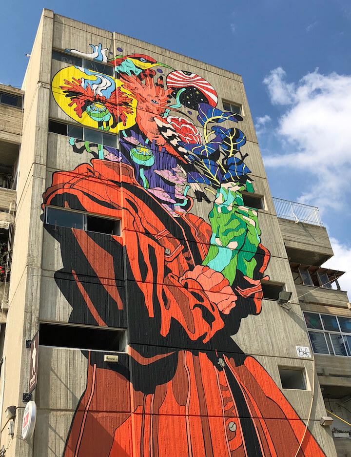 Bicicleta-sam-freio-street-art-walls-festival-Jerusalem
