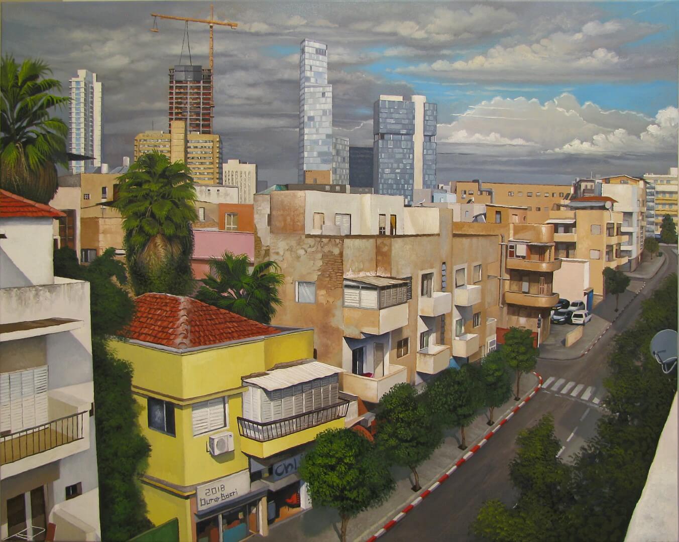 דוראר בכרי דרום תל אביב שמן על קנבס 80100 (Large)
