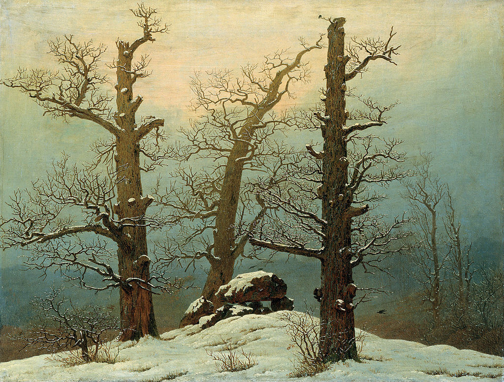 פרידריך, גלעד בשלג, 1807