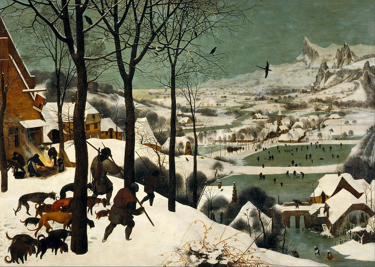פיטר ברויגל האב, הציידים בשלג, 1565