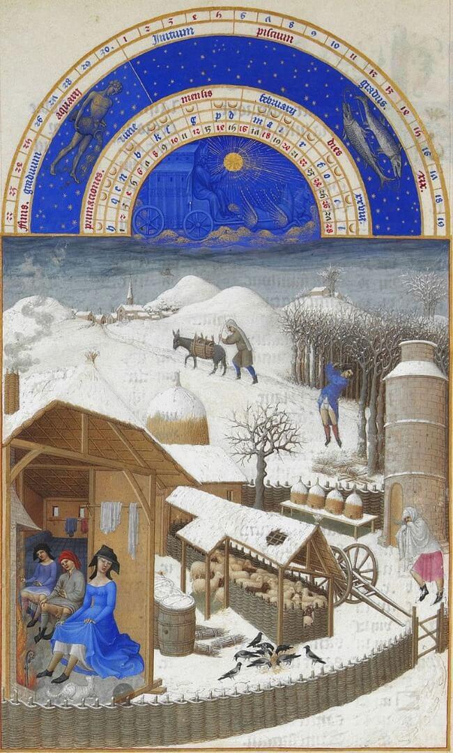 פול לימבורג, פברואר, 1412