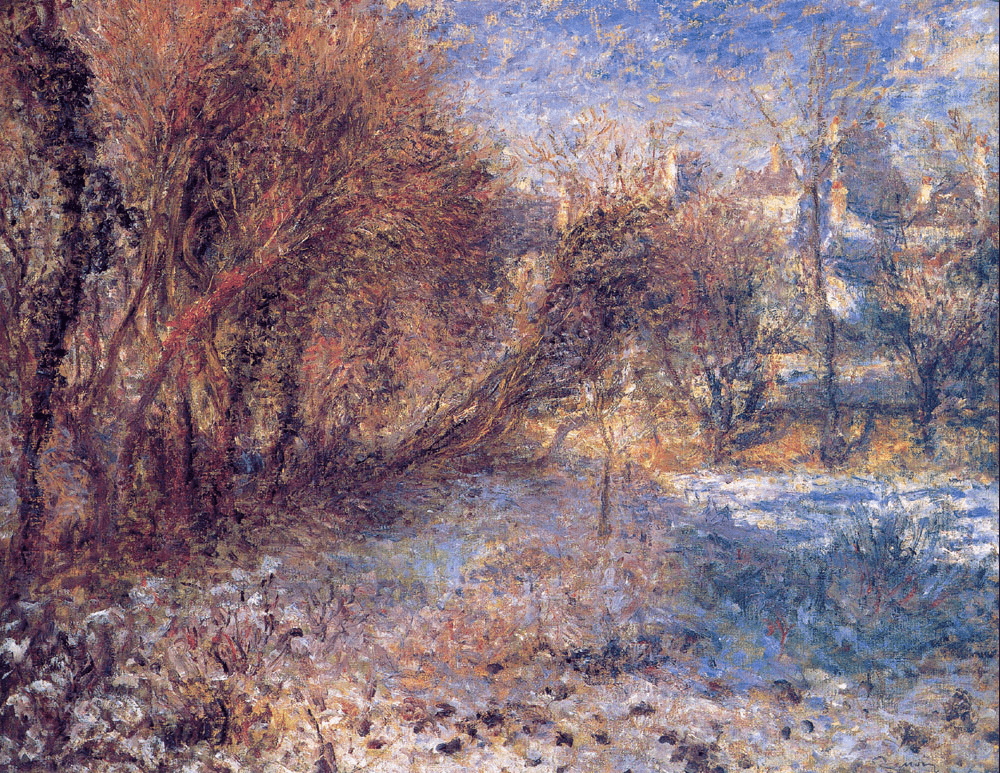 Landscape with Snow (1875)