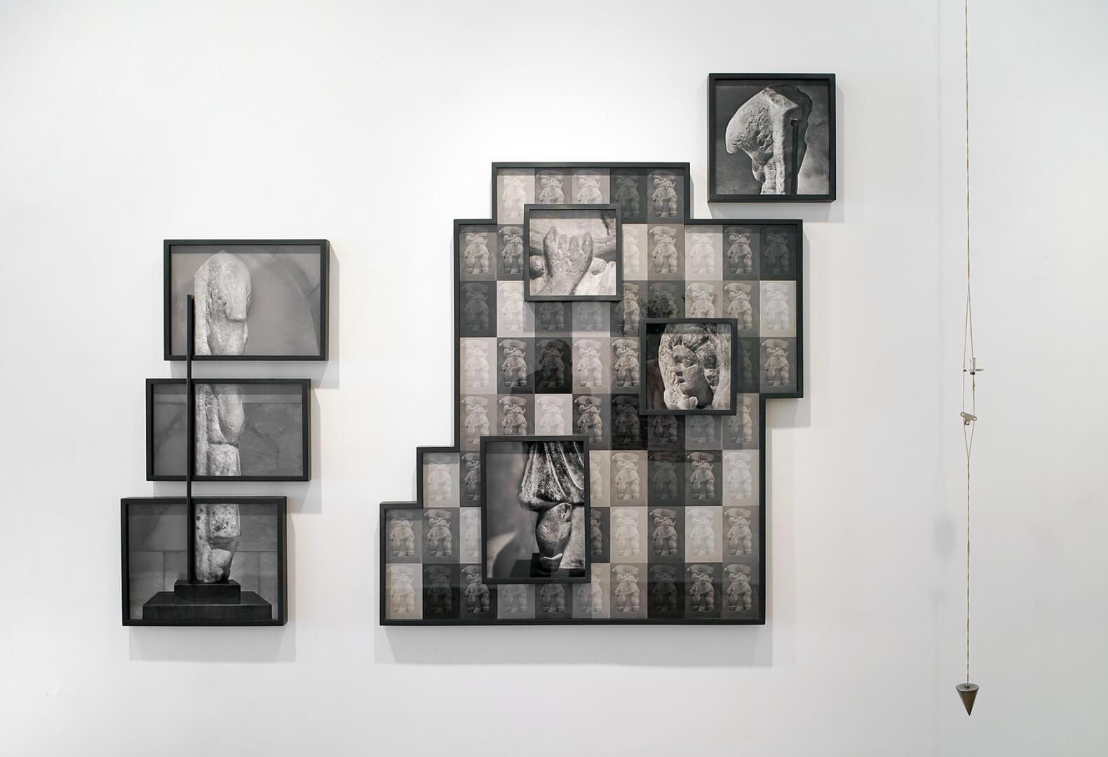 אורית ישי, הבשורה, 2018, מיצב צילומי, צילום שלמה סרי, Orit Ishay, The Annunciatuon, 2018, photographic installation