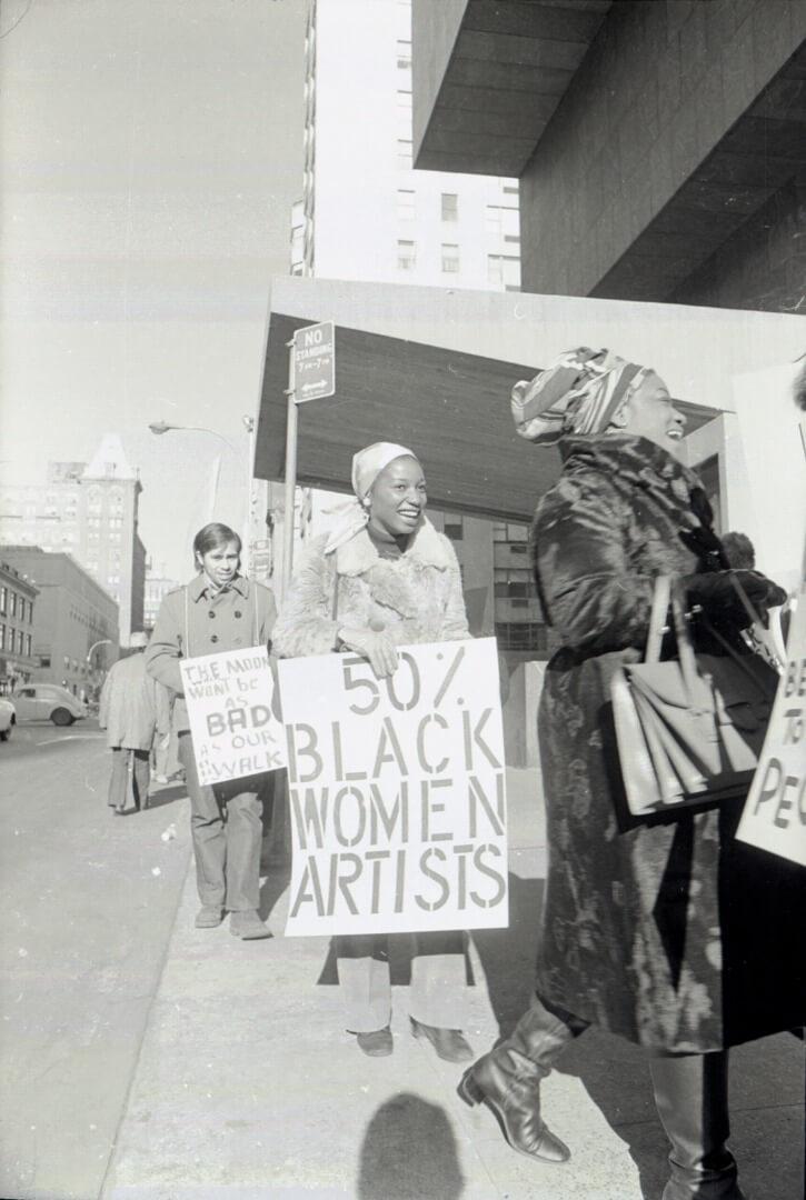 הפגנה של ארט וורקרס קואלישון 1970