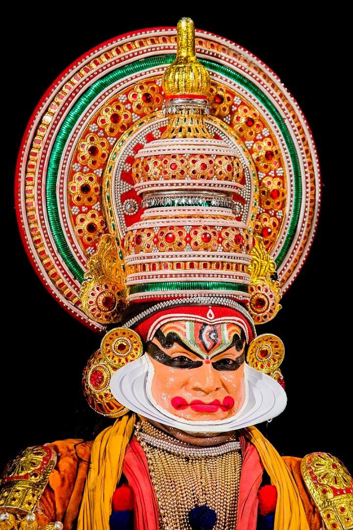 מסכת קטקאלי, הודו