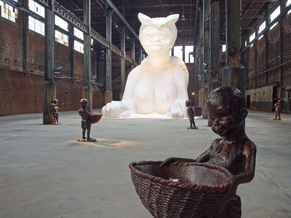 installation_view_a_subtlety_or_the_marvelous_sugar_baby_2014