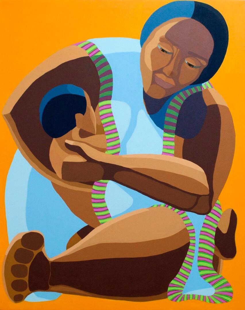 Nirit Takele- MotherWith Child