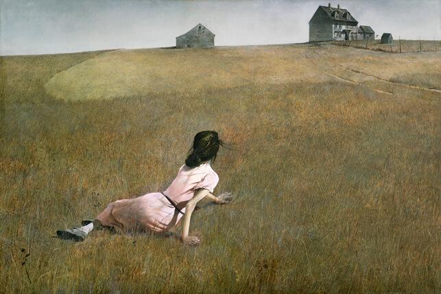 אנדרו וויט, העולם של כריסטינה, 1948