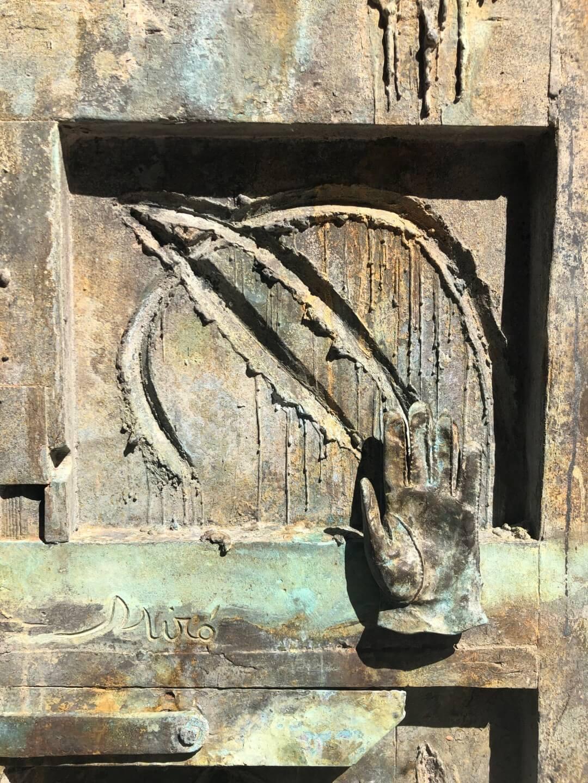 1_Joan Miro, Porte II, 1974