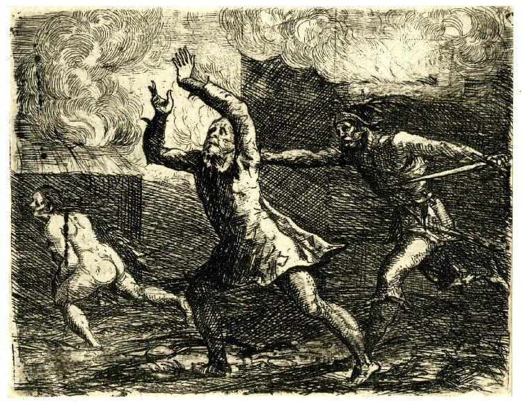 פרנק, כיבוש העיר, 1643