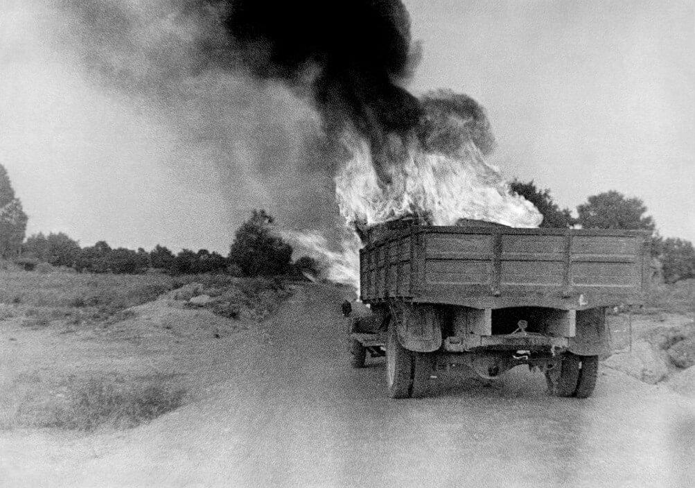 קרב ברונט, יולי 1937 ימים לפני שנפגעה ומתה