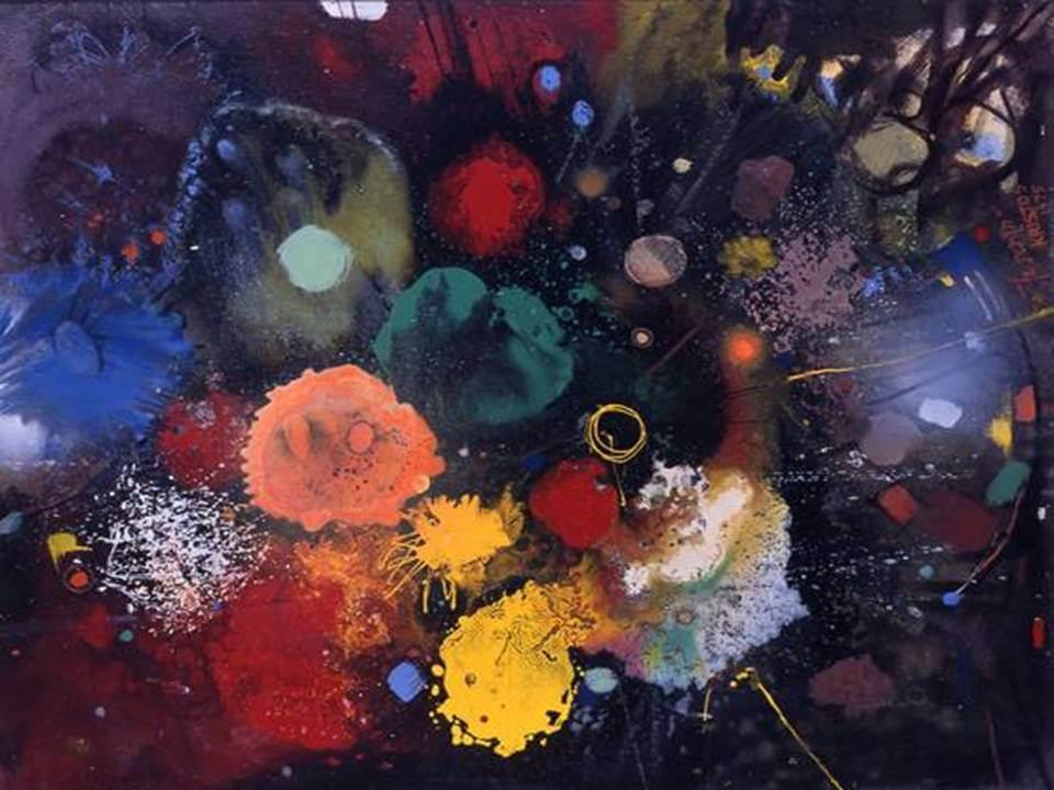 דסטה, פרחים מספר 5, 1975