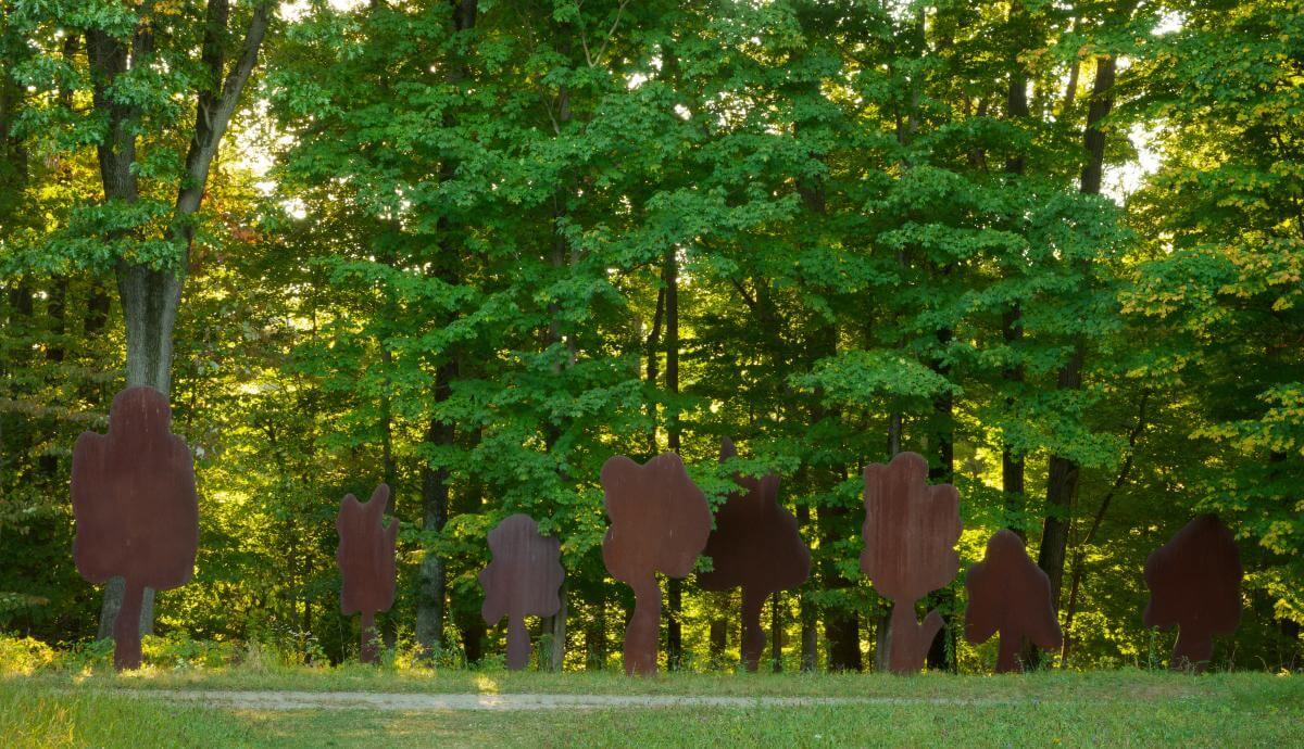 קדישמן, שמונה עצים חיוביים, 1977, סטורם קינג