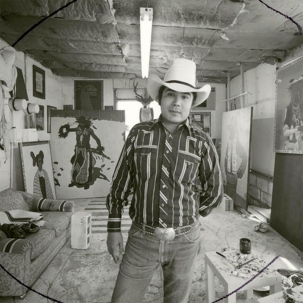 בסטודיו בסנטה פה ב 1976