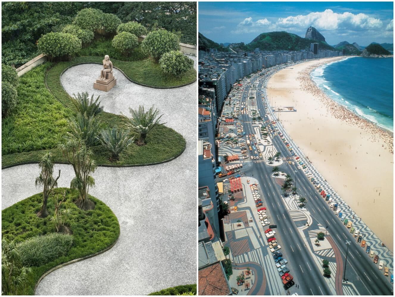 2_Roberto Burle Marx, Copacabana Beach and the Ministry of Health & Education building, Rio De Janiro