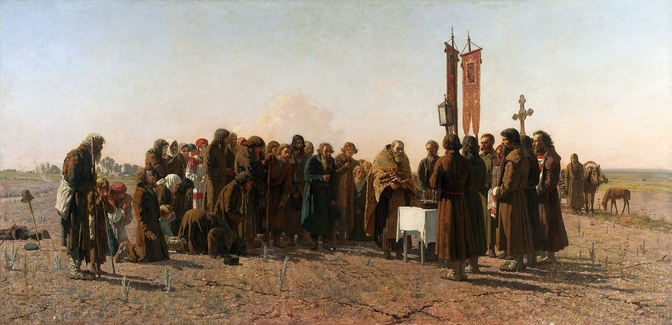 Myasoyedov_Prayer_in_time_of_drought - 1881