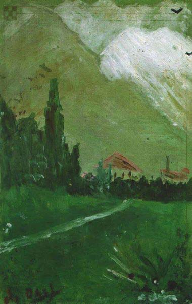 Landscape_Near_Figueras - דאלי 1910