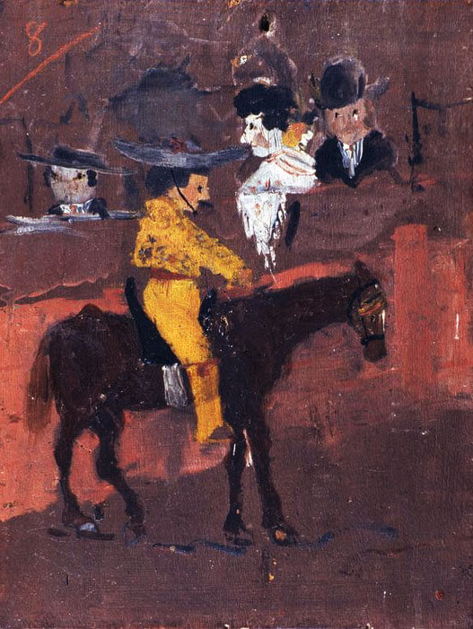 פיקאסו, פיקאדור, 1889