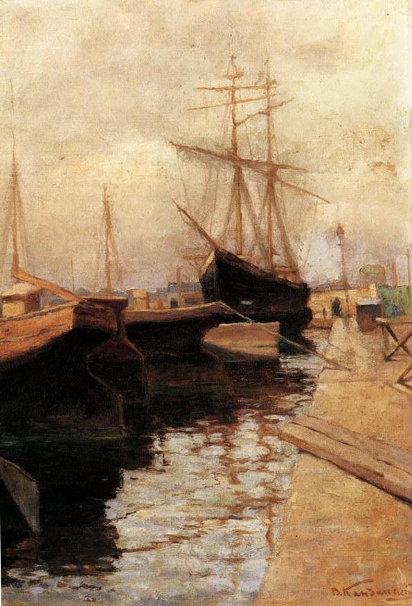 קנדינסקי נמל אודסה 1898