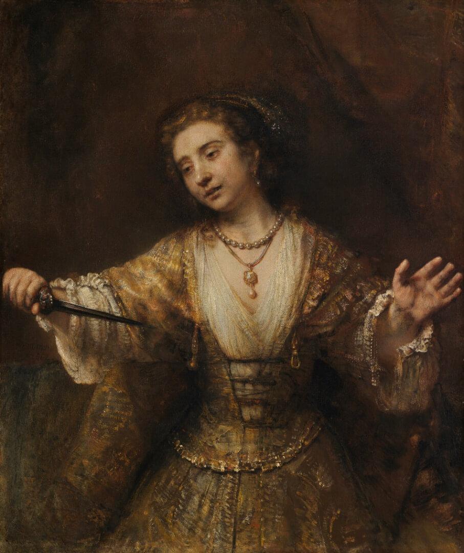 embrandt, Lucretia (1664)