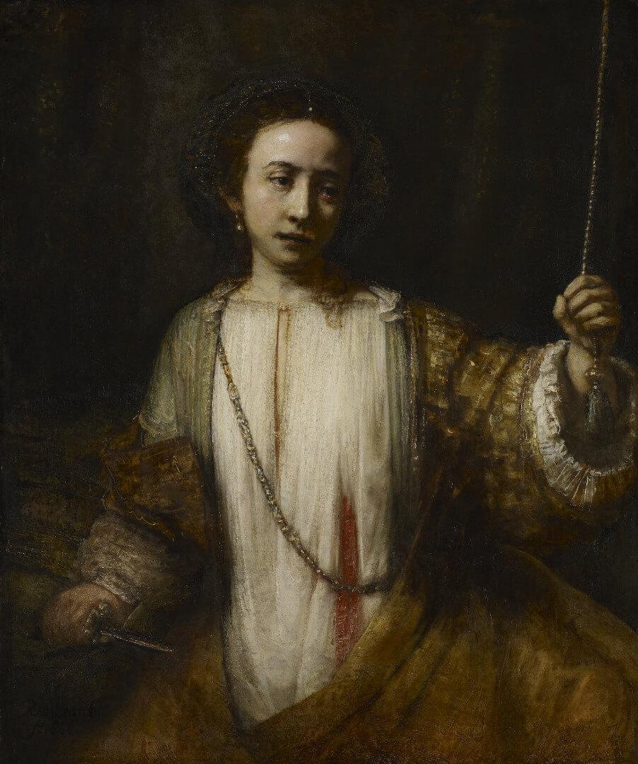 Rembrandt, Lucretia 1666