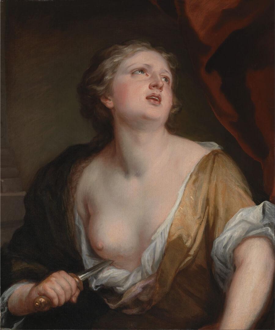 Sir Godfrey Kneller, Lucretia (1672-5)