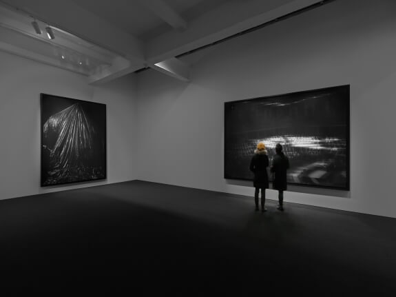 5_Robert Longo, Fugitive Images, 2019, charcoal on paper, Metro Pictures, New York (1)