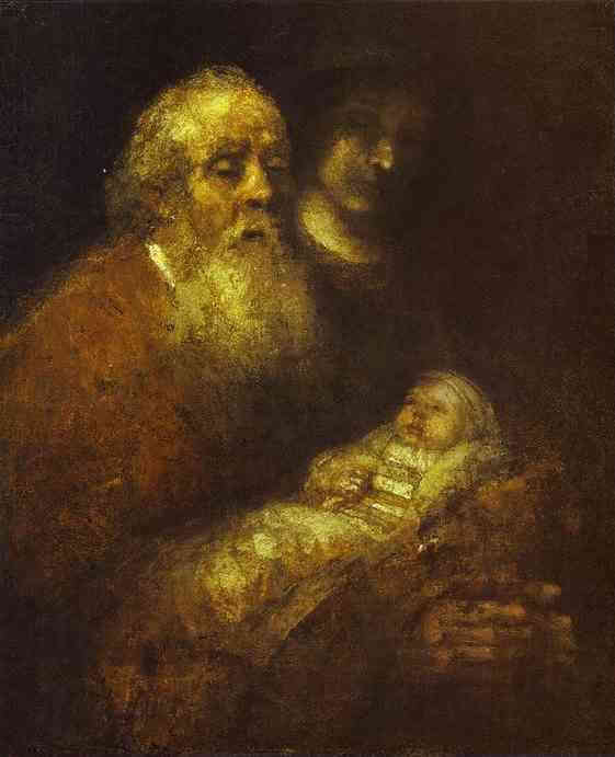 Rembrandt+van+Rijn+-+Simeon+with+the+Christ+Child+in+the+Temple+1669