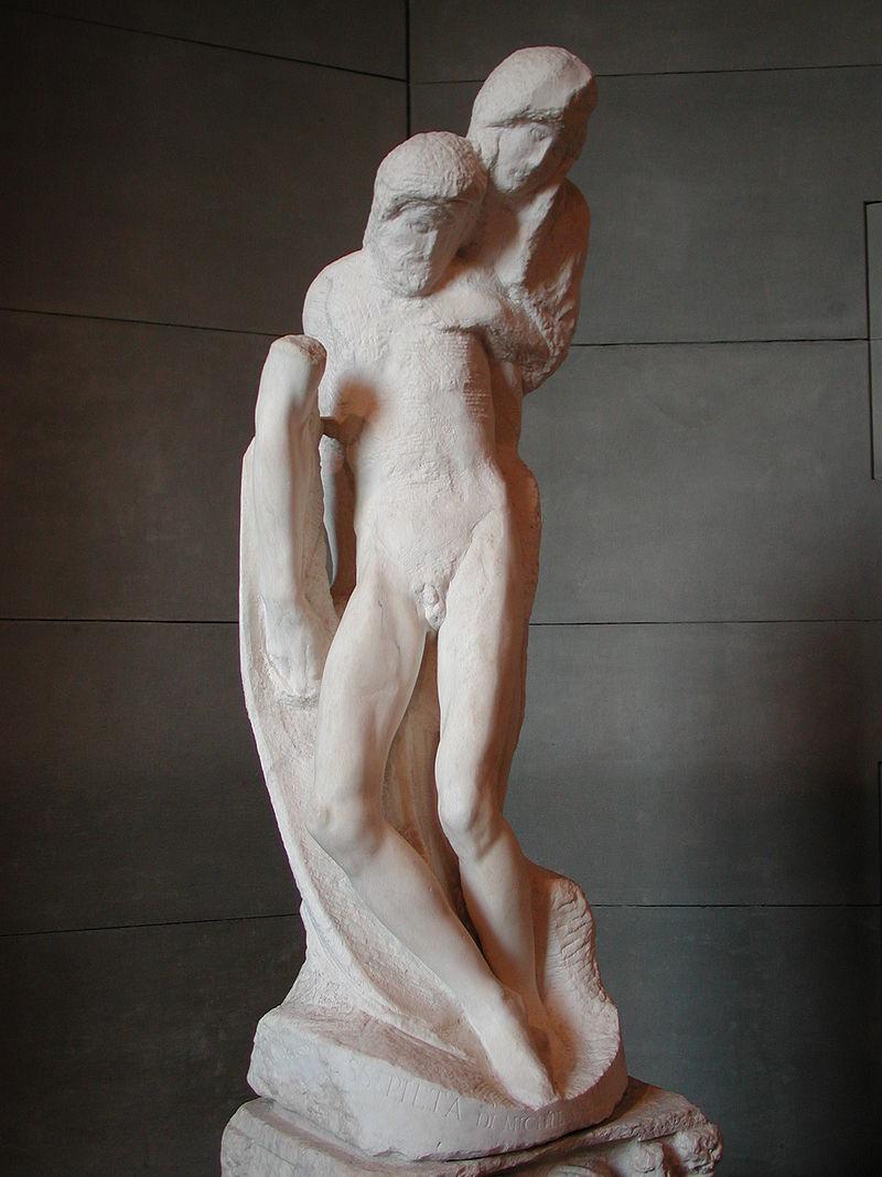 800px-Michelangelo_pietà_rondanini, 1564