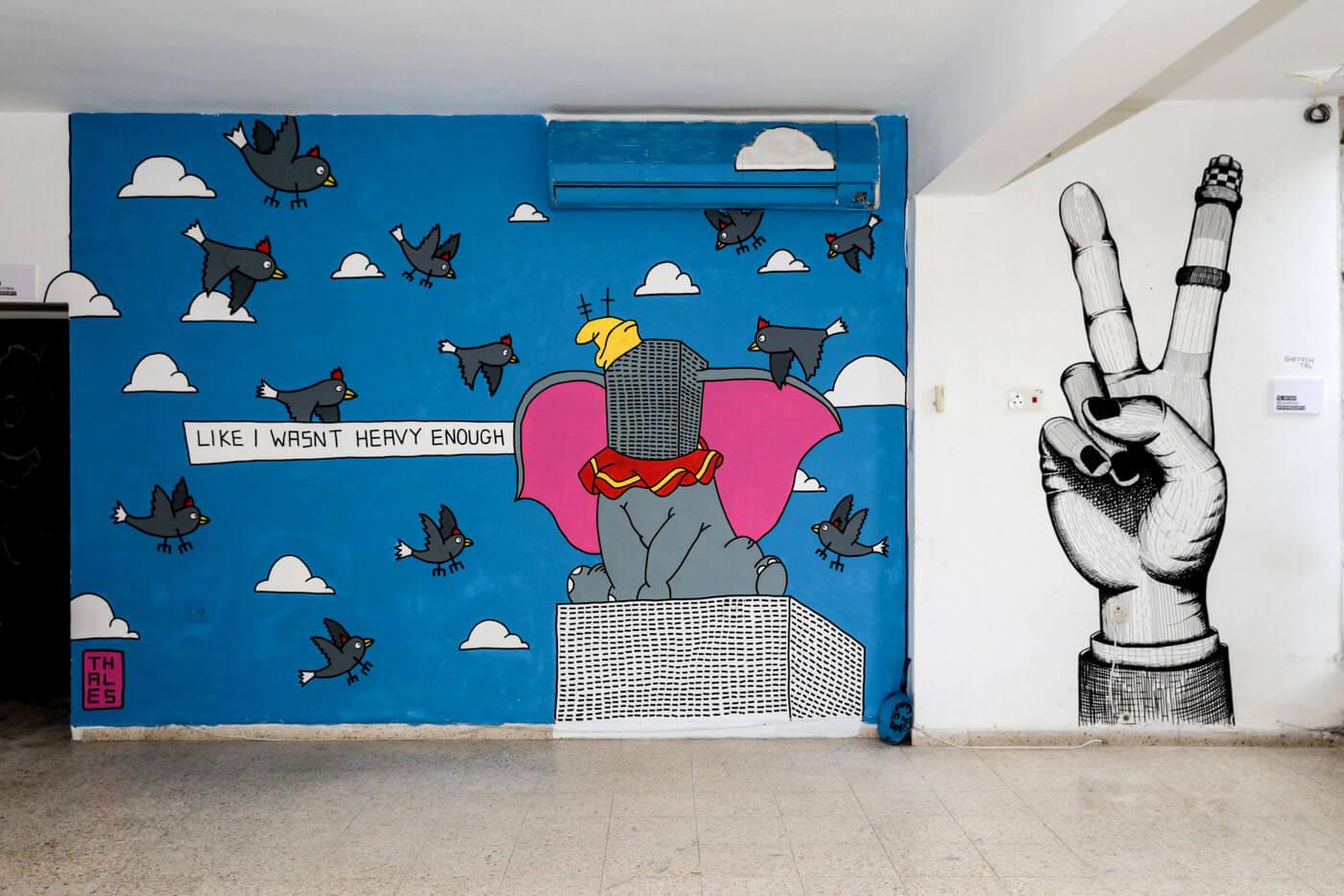 THALES+Tal Shetach_מתוך מוזיאון פופ אפ תל אביב_קרדיט צילום גילי לוינסון